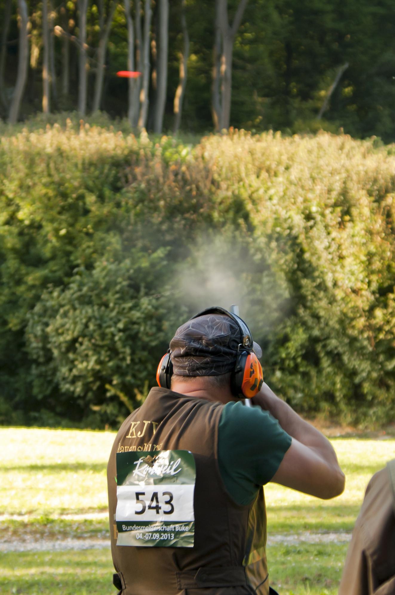 Am 4. Septembre holten die Schützen des Landesjagdverbandes Sachsen-Anhalt in Buke Bronze in der offenen Klasse