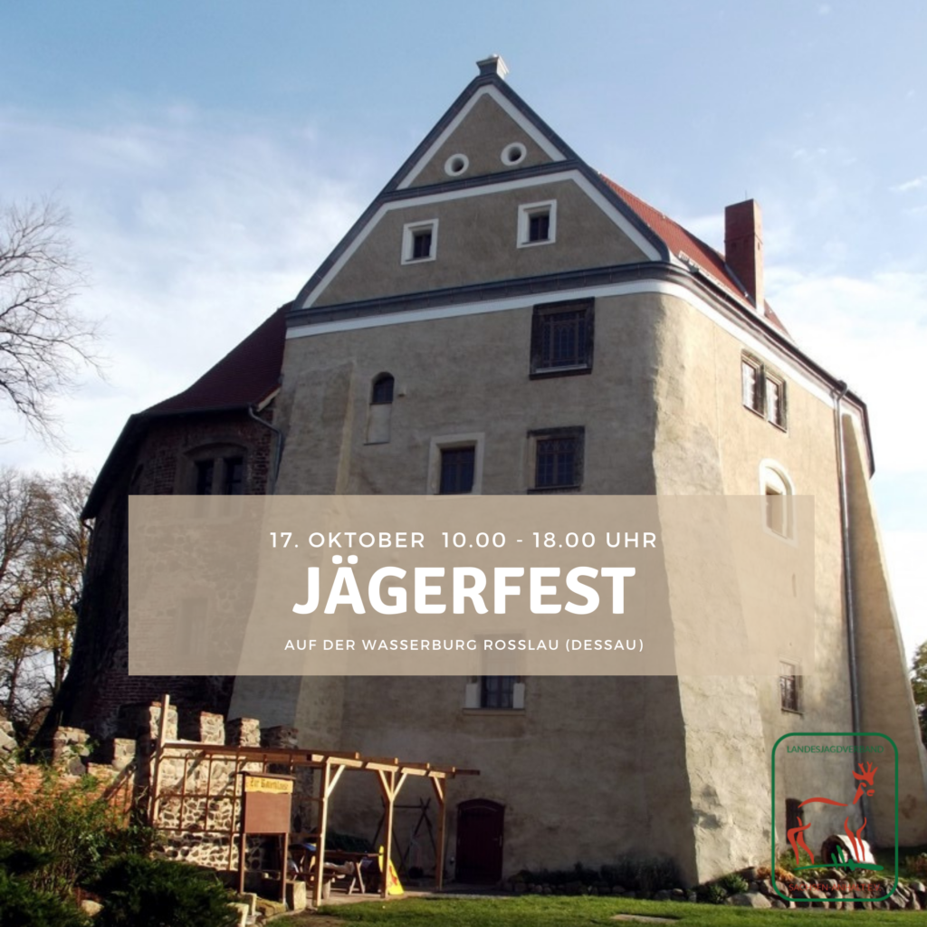 Titelbild Jägerfest Rosslau