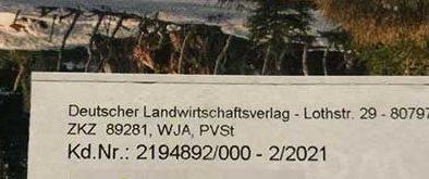 Wo finde ich meine DLV Kundennummer?
